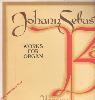 LP Johann Sebastian Bach 1685 - 1750, Works For Organ, CM 03989 90