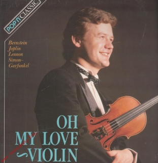 LP Ivan Ženatý, Oh My Love Violin, 1990, 41 0011 1 131