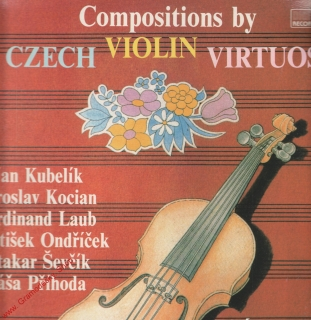 LP Compositions by Czech Violin Virtuosi, Kubelík, Kocián, Laub... 1990