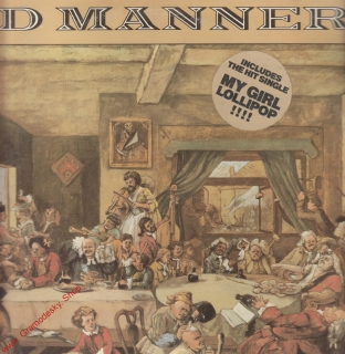 LP Forging Ahead, Bad Manners, 1982 Magnet Records Ltd