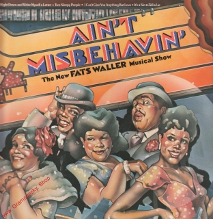 LP 2album Ain't Misbehavin, The New Fats Waller Musical Show, 1978 RCA Records