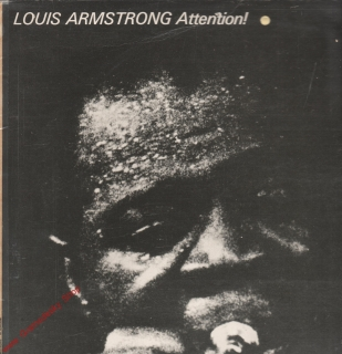 LP Louis Armstrong, Attention! Jazz stereo 8 55 484 Amiga, 1976