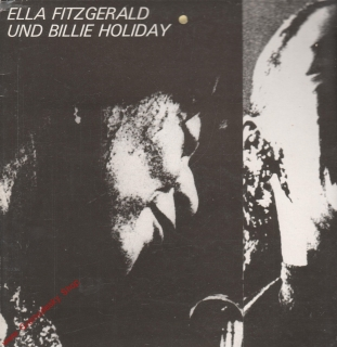 LP Ella Fitzgerald und Billie Holiday, Jazz, stereo, 8 55 084, Amiga, 1980