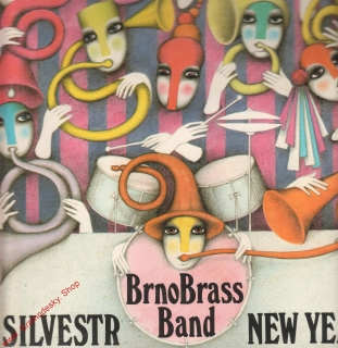 LP Silvestr, New Year's Eve, Brno Brass Band, 1987, 81 0731 1 G