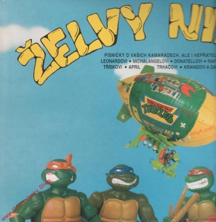LP Želvy Ninja, Turtles, 1992, MultiSonic
