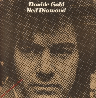 LP 2album Double Gold, Neil Diamond, 1973, Bellaphon