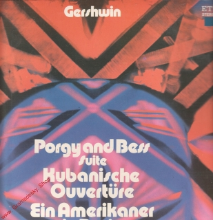 LP George Gershwin, Suite aus Porgy and Bess Kubanische Ouverture, 1976 Eterna