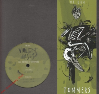 "12"" Violent Cases 004, All Tracks by Tommers, 3 Tracks, 33 rpm"