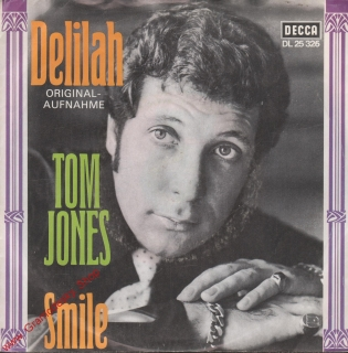 SP Tom Jones, Delilah, Smile, DL 25 325