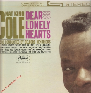 LP Nat King Cole, Dear Lonely Hearts, Capitol Full Dimensional Stereo