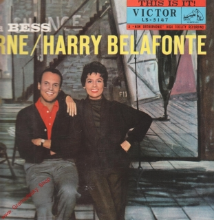 LP Harry Belafonte and Lena Horne, Porgy and Bess, Victor LS 5147