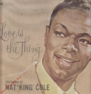 LP Nat King Cole, Love is the Thing, Capitol