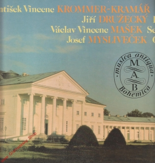 LP František Vincenc, Collegium musicum Pragense and other soloists, 1990 stereo