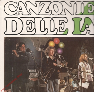 LP Canzoniere, Delle Lame, 1979, stereo 1114 2574 H