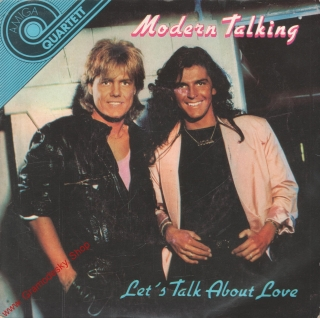 SP Modern Talking, Let's Talk About Love, stereo