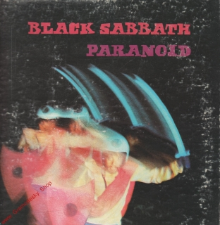 LP Black Sabbath, Paranoid, 1970 Warner Bros Records, WS 1887