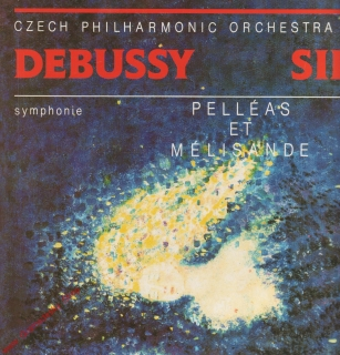 LP Czech Philharmonic Orchetra Serge Baudo, Debussy, Sibelius, 1989 stereo