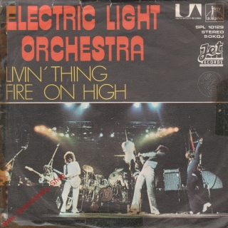 SP Electric Light Orchestra, Livin'Thing Fire On High, stereo, SPL 10129 II. j.