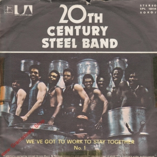 SP 20th Century Steel Band, We'Ve Got Work To Stay Together, stereo