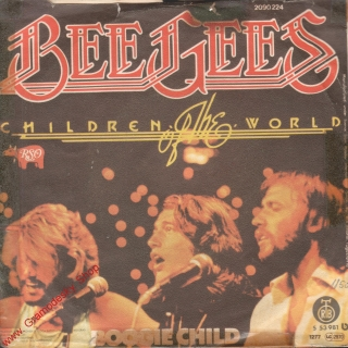 SP Bee Gees, Children of the world, Boggie Child