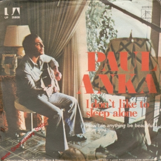 SP Paul Anka, I Don't Like To Sleep Alone, stereo