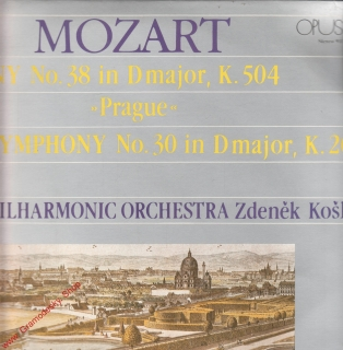 LP Wolfgang Amadeus Mozart, Symphony No. 38 in Dmajor, Opus stereo 9110 1547