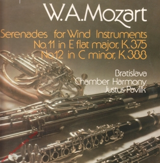 LP Wolfgang Amadeus Mozart, Serenades for Wind Instruments Opus stereo 9111 1334