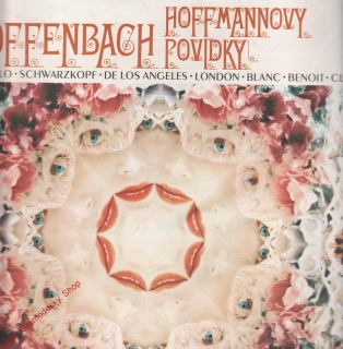 LP 3album Jacques Offenbach, Hoffmannovy povídky, 1980 stereo 1116 3081-836 ZB