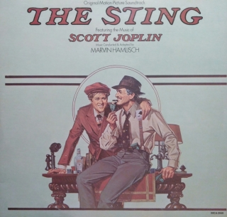 LP The Sting original Motion Picture Soundtrack Paul Newman, Robert Redford 1974