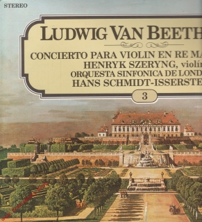 LP Ludwig van Beethoven, Concierto Para Violin en Re Mayor op. 61 stereo Philips
