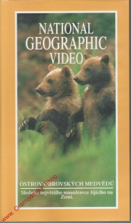 VHS Ostrov obrovských medvědů, National Geographic Video, 1998