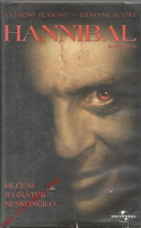 VHS Hannibal / Anthony Hopkins, Julianne Moore, Mlčení jehňátek neskončilo, 2001
