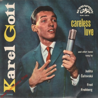 SP Karel Gott, Careles Love, Blues in the Night, SUK 33514