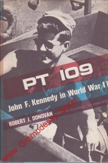 PR 109 John f.Kennedy in World War II / Robert J. Donovan, 1961 anglicky