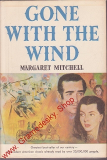 Gone Wih the Wind / Margaret Mitchell, anglicky