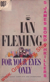 James Bond 007, For Your Eyes Only / Ian Fleming, anglicky