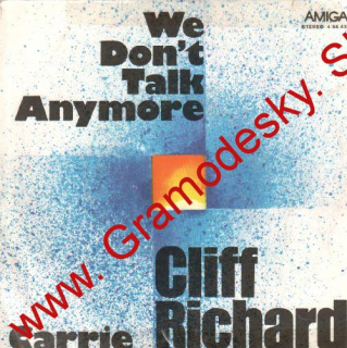 SP Clift Richard, Carrie, We Don't Talk Anymore, 1980