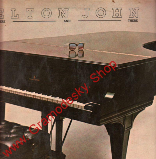 LP Elton John, Here and There, 1976, DILPH 473