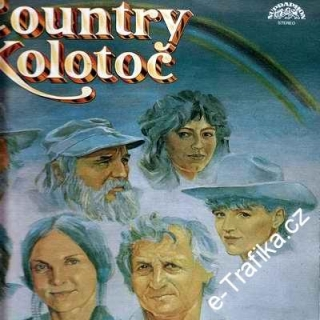 LP Country kolotoč - 1988