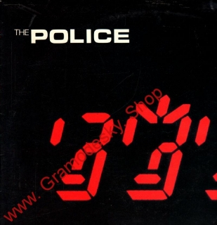 LP The Police Ghost in The Machine, 1983, 1113 3268 ZN, stereo