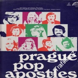 LP Prague Pop Apostles, 1972
