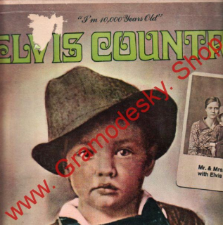 LP Elvis Country, I Am 10.000 Years Old, LSP 4450, India